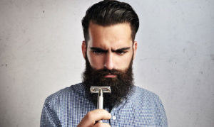 facial hair growth after shaving