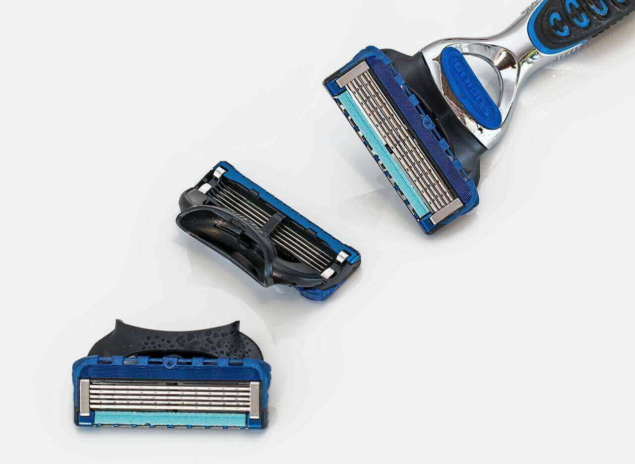 prevent razor burns by changing the blades
